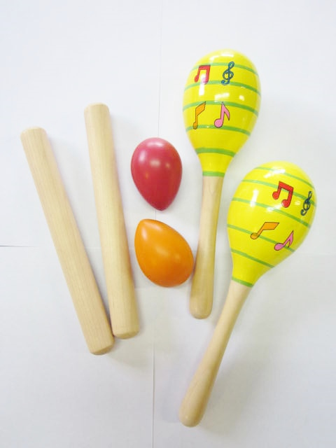 Percussion Set with Claves